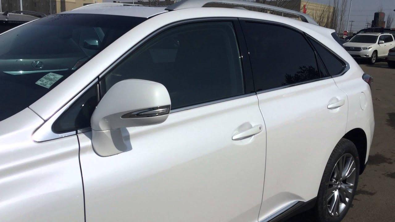 2014 Lexus RX 350 AWD White Starfire Pearl on Black Touring