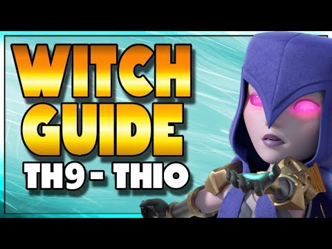 Witch Attack GUIDE | BEST 3 Star Strategies for TH10 and TH9 | Clash of Clans