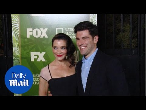Max Greenfield and Tess Sanchez on the red carpet (archive) - Daily Mail