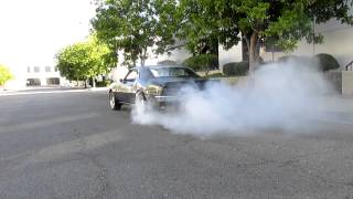 1968 Pontiac Firebird - 1st Burnout