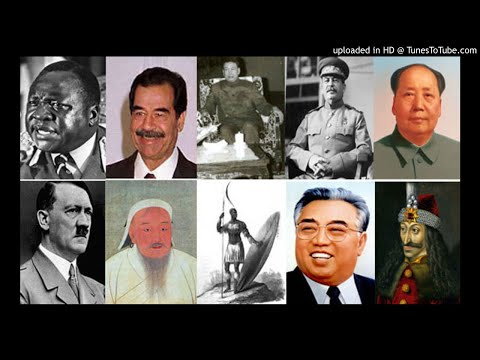 World's Dictators History Audiobook