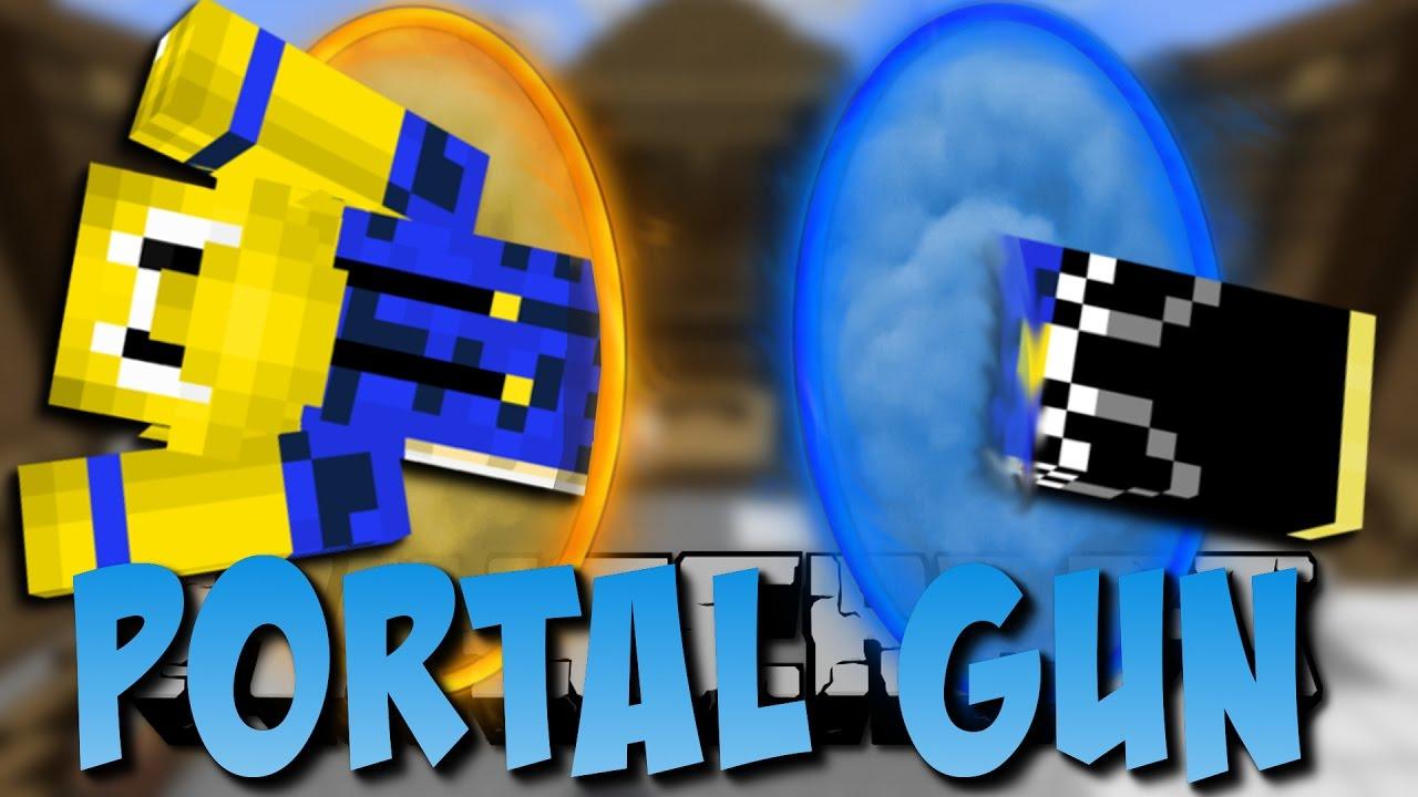 Minecraft Portal Gun Mod Portale Turrets Und Mehr