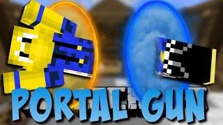 Minecraft PORTAL GUN MOD (Portale, Turrets, und mehr) [Deutsch]