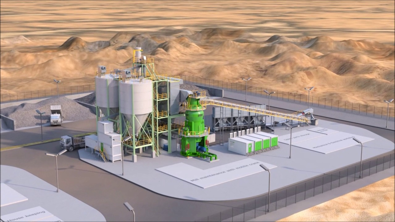 Cement Loading Plant : Loesche compact cement grinding plant ccg youtube