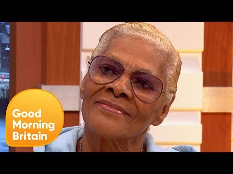Legendary Singer Dionne Warwick Discusses Her Upcoming Charity Performance | Good Morning Britain