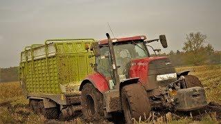 Kukurydza EXTREME w Firmie Nowak ||MegaWtopy || Ciągniki po osie w bagnie ||