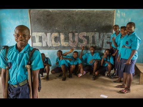 Plan International s'engage pour réduire les discriminations envers les enfants handicapés on YouTube