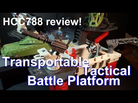 HCC788 - Transportable Tactical Battle Platform - vintage G. I. Joe toy review! HD S02E33