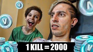 1 KILL = 2.000 PAVOS PARA THIAGO !! - Robleis