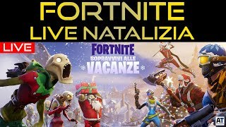 FORTNITE LIVE INVERNAL - NATAL PATCH ITA