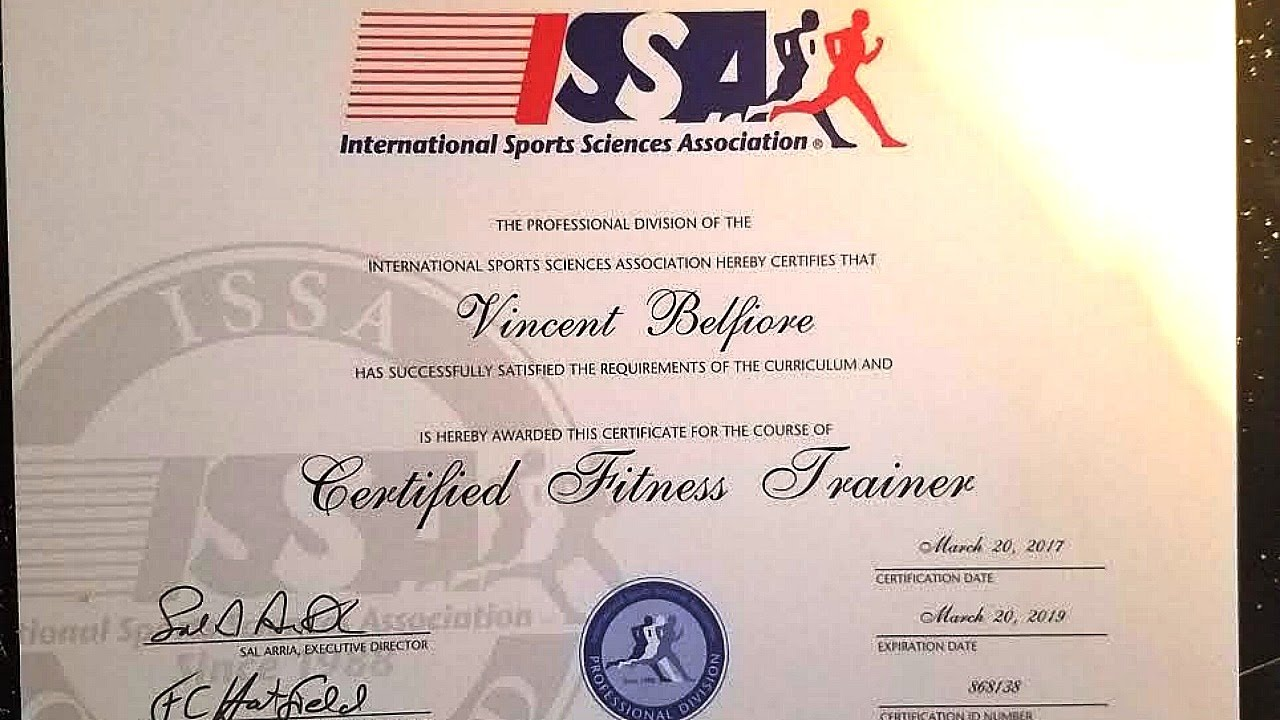 f40c904b88e Officially A Certified Fitness Trainer For The ISSA! What You Need To Know.   B.E.A.