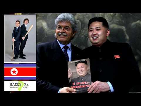Antonio Razzi e il Generale Nordcoreano Preso a Cannonate (La Zanzara)