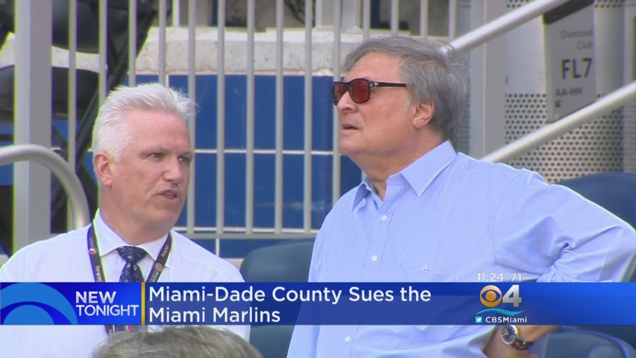 Miami-Dade County Suing Fmr. & Current Miami Marlins Owners