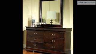 Bordeaux Sleigh Bedroom Collection From Samuel Lawrence Furniture