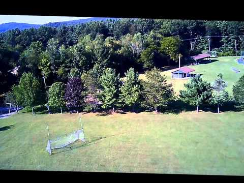 Copy of U818A-1 quadcopter test drone survey aerial video