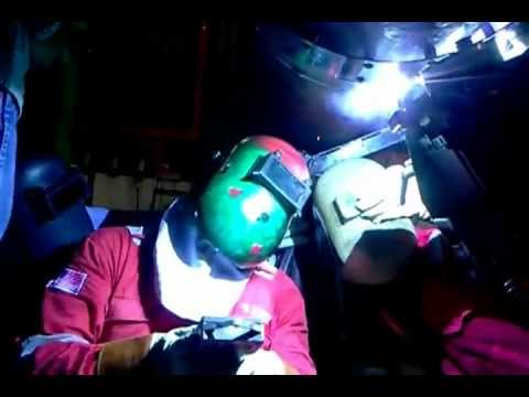 Welder Malaysia Crc Evans - Youtube