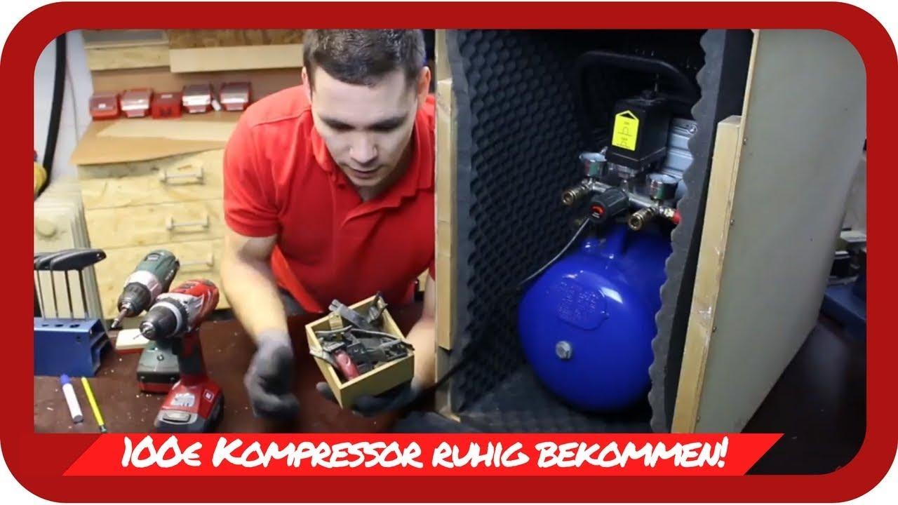 Gut bekannt MX Helfer - Endlich Ruhe in der MX Werkstatt 100€ Kompressor leise XD52