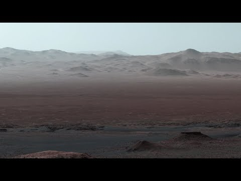 Curiosity at Martian Scenic Overlook