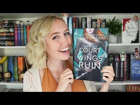 A COURT OF WINGS AND RUIN BY SARAH J MAAS BOOKTALK