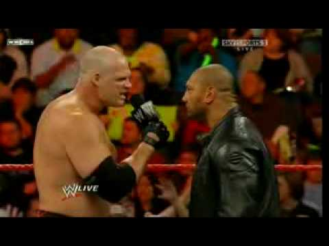 Monday Night Raw (11/23/2009) - Kane and Batista Segment