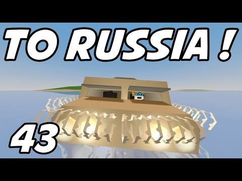 """UNTURNED - E43 """"To Russia or Bust!"""" (Unturned Role-Play)"""