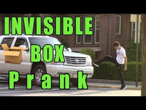 INVISIBLE BOX PRANK!!