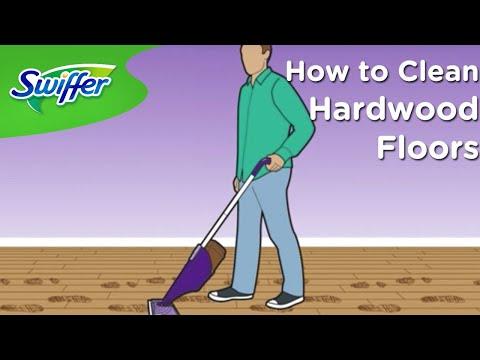 How to Clean Hardwood Floors with Swiffer WetJet | Swiffer