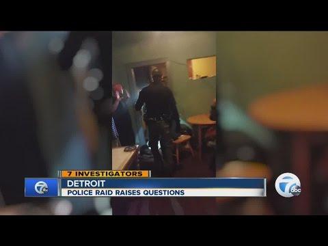 Police raid raising questions