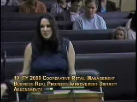 Santa Cruz City Council Testimony 5/13/08