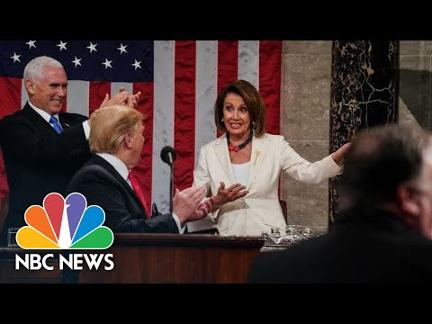 Nancy Pelosi: President Donald Trump 'Totally Ignored' U.S. Gun Violence Epidemic | NBC News