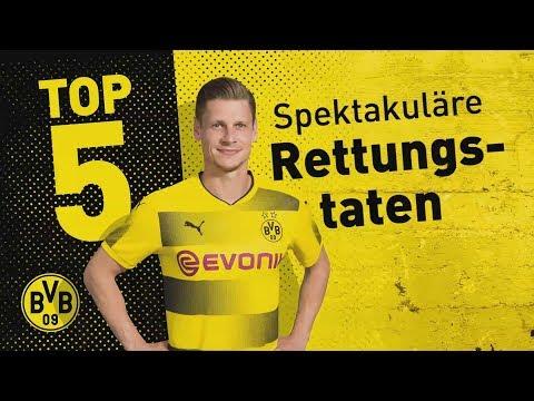 Top 5 Goal Line Clearances | Piszczek, Bender & Co.