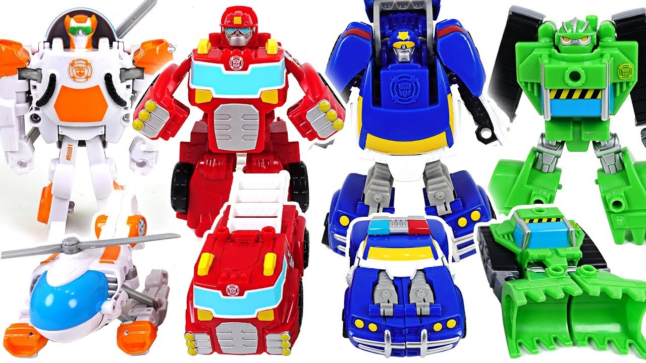 Robocar Poli There Are Not Enough Rescue Workers Go Transformers Mainan 1 Set Bots Dudupoptoy