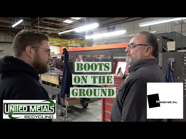 Recycled Idaho - BOTG - Ken Cortez and Nick Snyder tour Metalcraft, Inc.