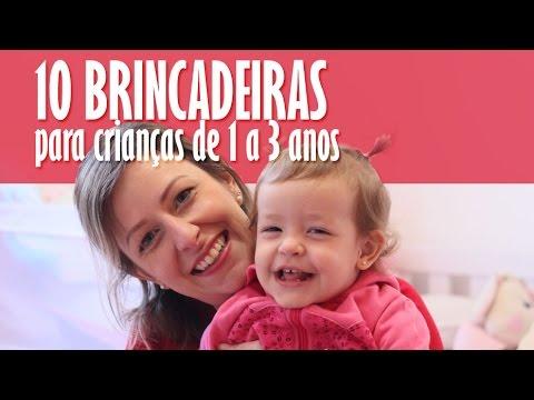 10 brincadeiras e estímulos para crianças de 1 a 3 anos  // Renata Conrado