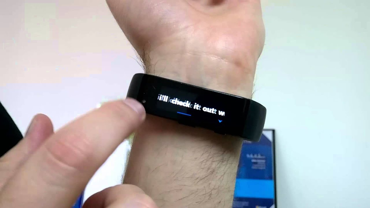 Sending a text message via voice with Microsoft Band and Cortana