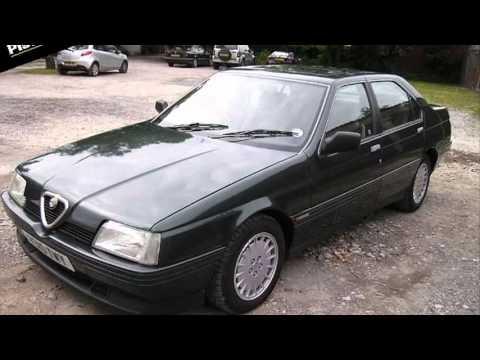 Alfa Romeo 164 V6 Turbo Youtube