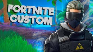 EVENING FORTNITE CUSTOM TEAM WITH YOU SLOW SKIN GIFTEL!!!