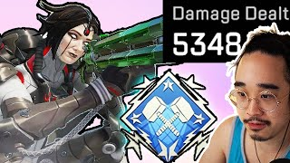 How a normal player gets the 4000 damage badge on HORIZON!! (Season 7 Apex Legends)