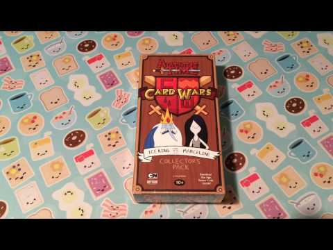 Adventure Time Card Wars Ice King Vs. Marceline Collector's Pack