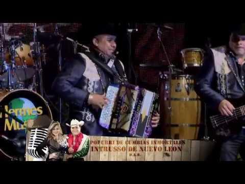 INTRUSSO DE NUEVO LEON EN VIVO EN EL SHOW DE JOHNNY CANALES EL TRACTOTISTA Y POPURRI DE CUNVIAS