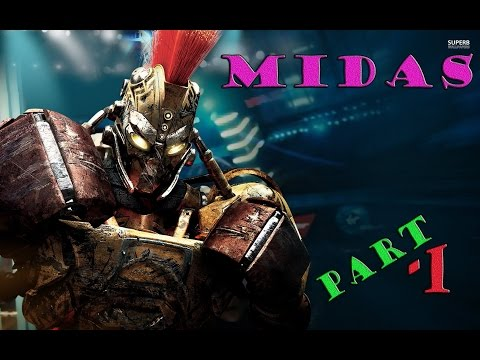 Живая сталь часть 1-Майдас уничтожает роботов(Real Steel - The Video Game)Midas destroys