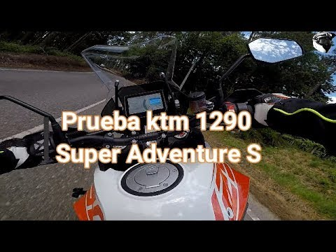 Prueba Ktm 1290 Super Adventure S