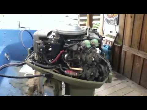 Evinrude 85 Hp Boat Youtube