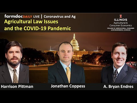 Agricultural Law Issues And The COVID-19 Pandemic