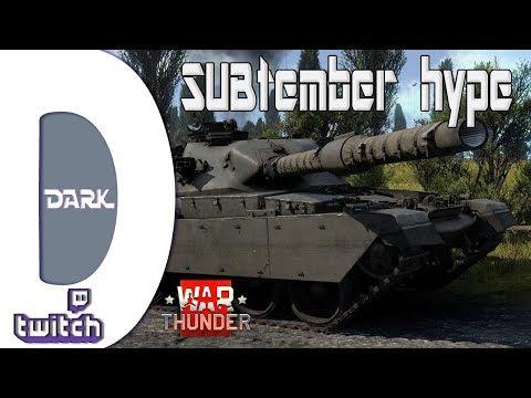 War Thunder HUN - SUBtember hype (Twitch live)