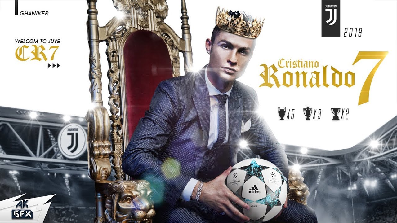 Cristiano Ronaldo Wallpaper Juventus 2018 19 Speed Art Youtube