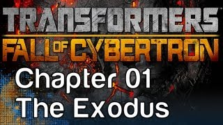 Transformers: Fall of Cybertron - Gameplay Walkthrough Chapter 01 - The Exodus - Bumblebee Part 1
