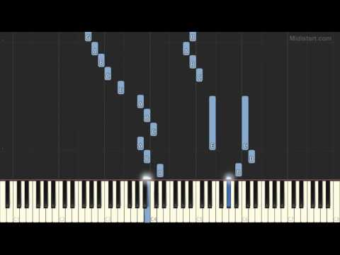 Mauriat Paul - Toccata (Piano Tutorial) [Synthesia Cover]