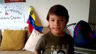 Un Regalo para Chávez del Niño Ilich Suárez