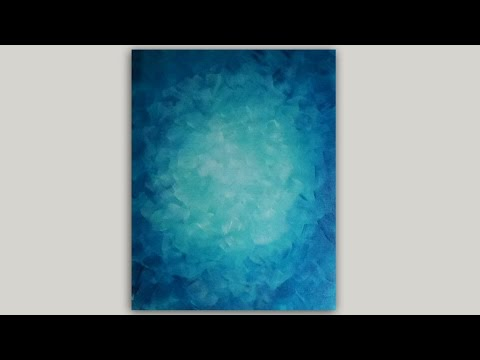 Acrylic painting how to paint hydrangeas angelooney for Acrylic background techniques